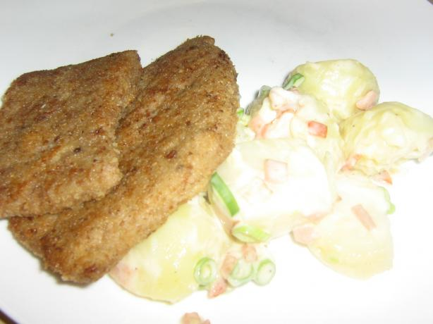 Wiener Schnitzel With a Proper Potato Salad