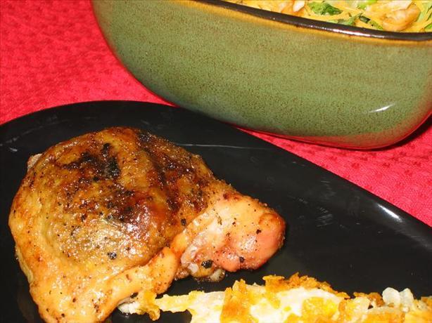 Mushroom Chicken (For the Grill)