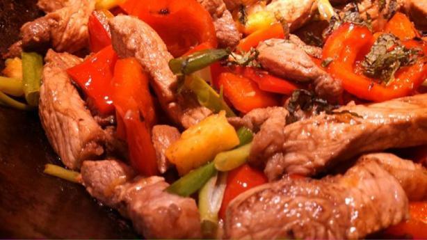 Vietnamese Tamarind Pork Stir-Fry
