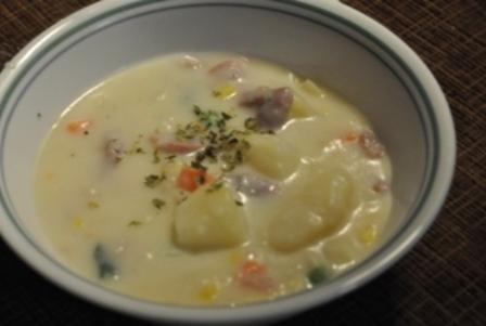 Quick and Easy Ham-Vegetable Chowder