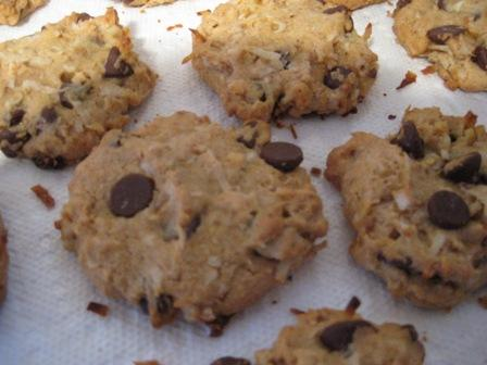 Chocolate Chip Treasure Cookies