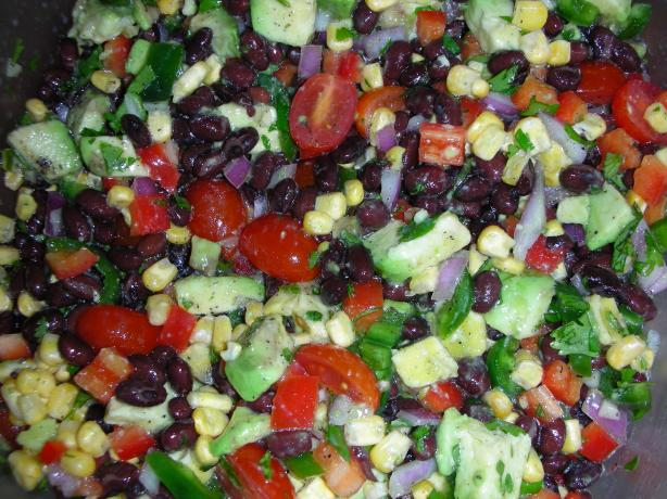 Fiesta Black Bean Salad