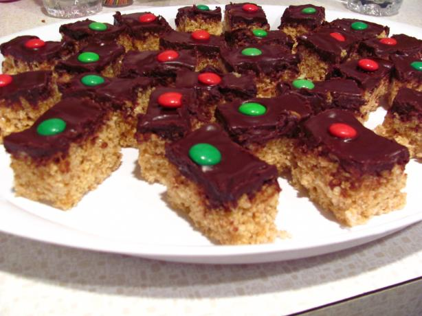 Decadent Chocolate Covered Rice Krispie Treats