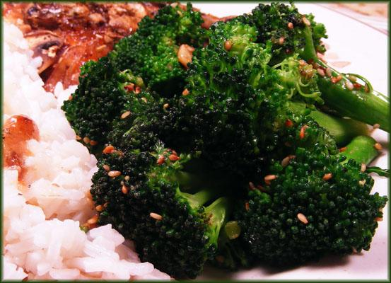 Garlic & Sesame Broccoli