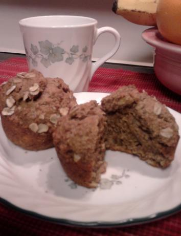 Whole Wheat Banana Muffins (Healthy!)
