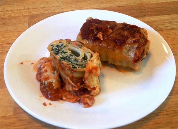 Lasagna Rolls Lite