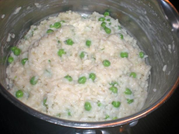 Rici E Bisi (Italian Rice and Peas) (Rice Cooker)