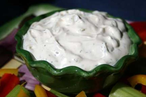 Delicious Dill Dip for Veggies