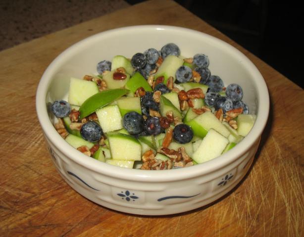 Raw Apple Salad (Vegan)