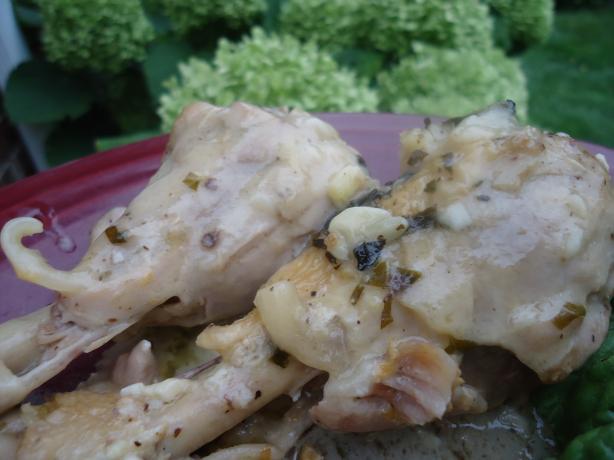 Greek Chicken Lemonata