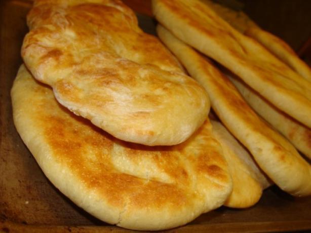 Easy Naan (Bread Machine)