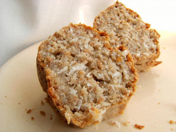 Coconut Tofu Snack Cake (Vegan
