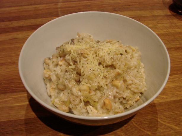 Mushroom, Leek and Cashew Nut Risotto