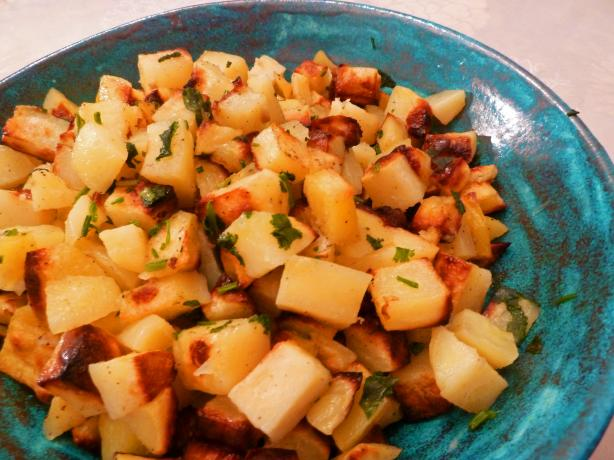 Roast Potatoes With Lemon and Coriander