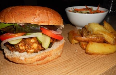 The Ultimate Veggie Burger – Thai Style