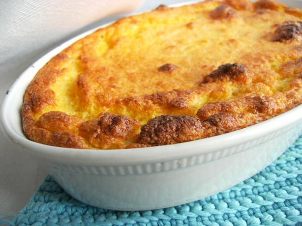 Sweet Corn Spoonbread, the Easy Way