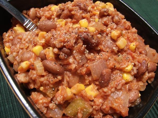 Pinto Bean Jambalaya