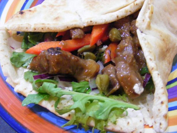 Aussie Lamb Sandwich / Souvlaki