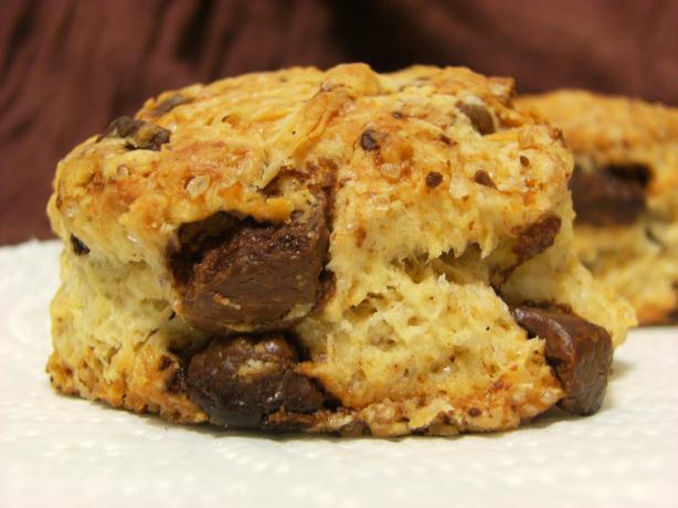 Chocolate Cinnamon Scones