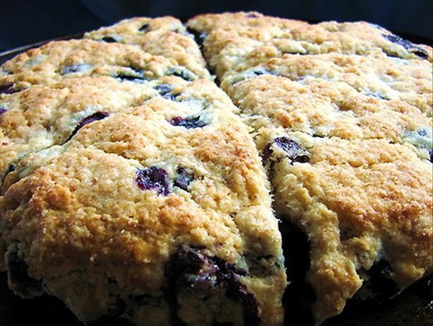 Diabetic Blueberry Scones