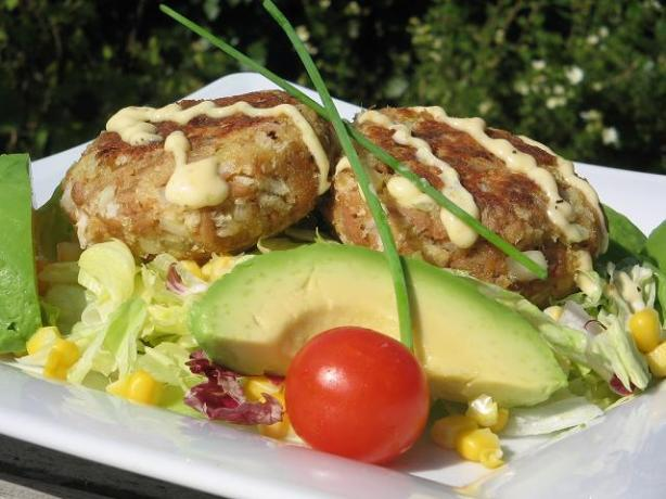 Asian-Inspired Tuna Cakes