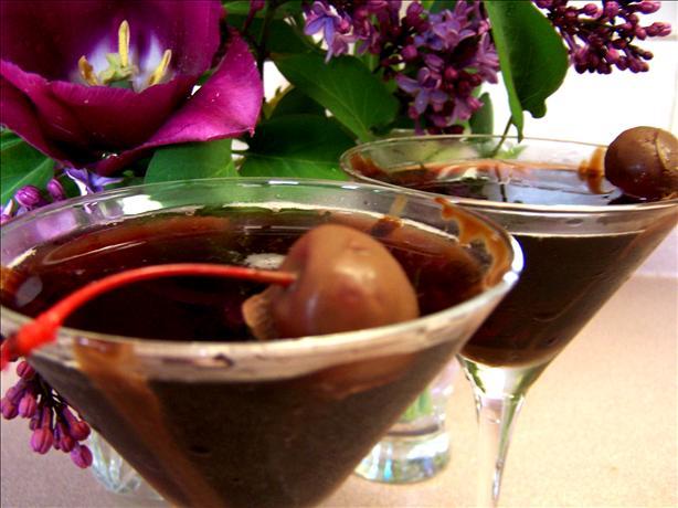 Chocolate Cherry Martini