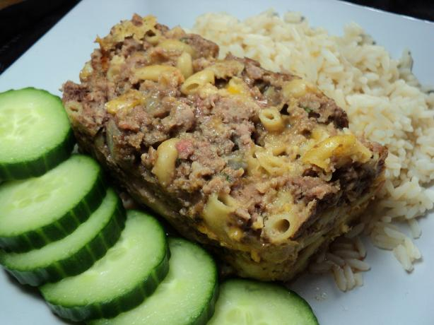 Macaroni and Cheese Meatloaf