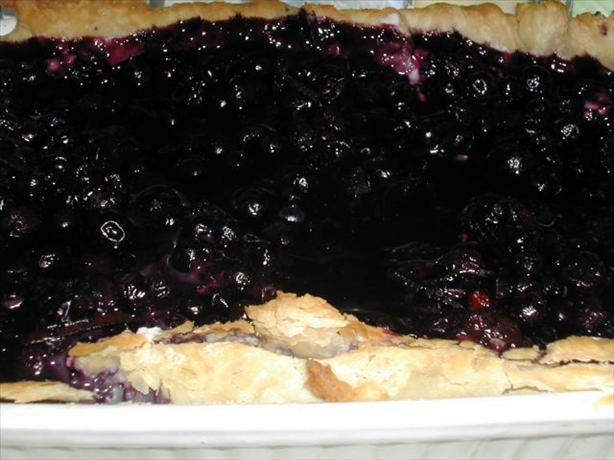 French Blueberry Tart