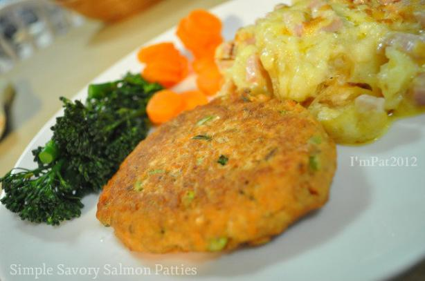 Simple Savory Salmon Patties