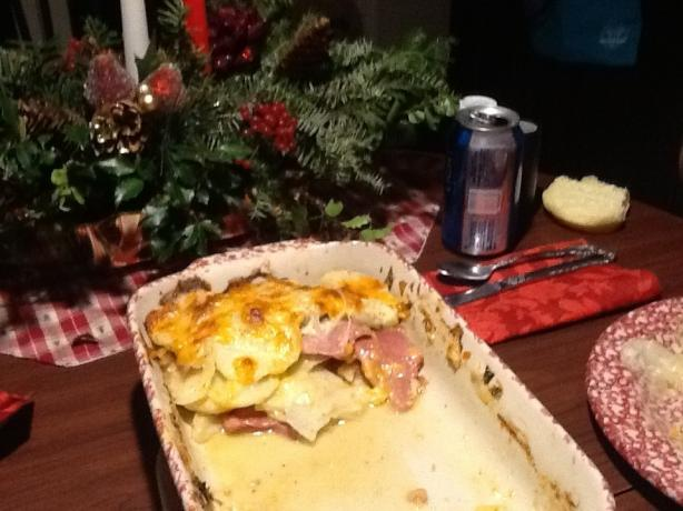 Leftover Ham Casserole