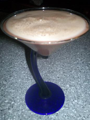 Chocolate Covered Cherry Martini (Choco-Cherry-Tini)