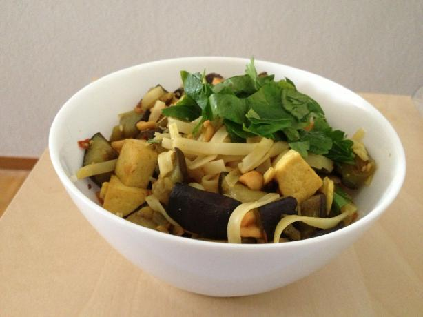 Spicy Thai Eggplant & Tofu