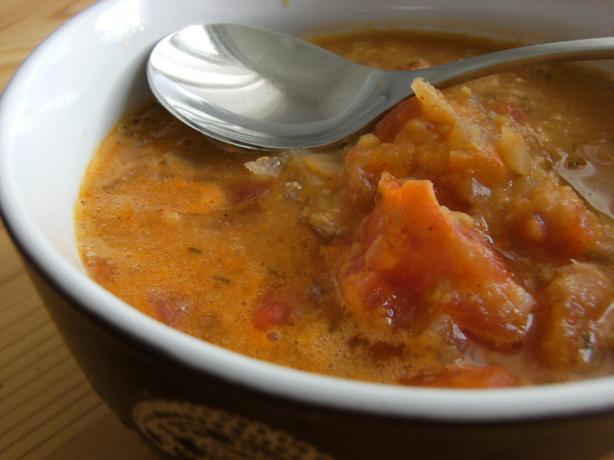 Sopa De Garbanzos - Chickpea Soup