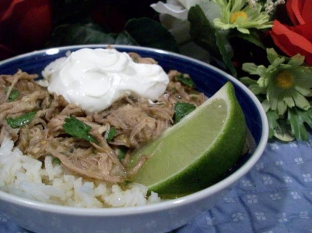 Authentic Mexican Pork Chile Verde