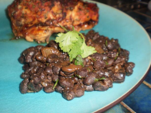 Quick Southwestern Black Beans