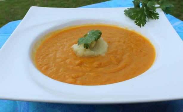 Spicy Greek Pumpkin Soup