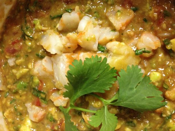 Shrimp Campechana (Cocktail)