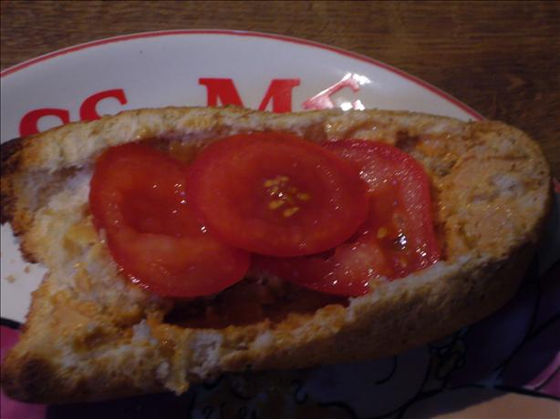 Peanut Butter and Tomato Toast