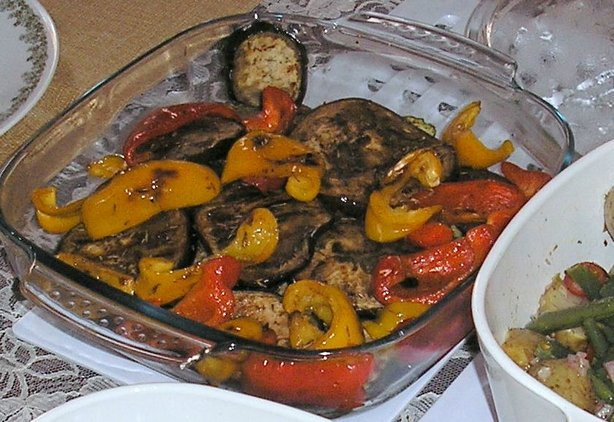 Grilled Autumn Vegetables
