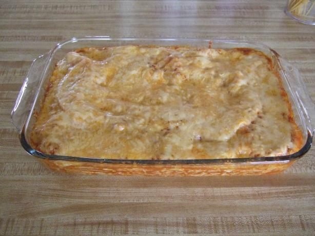 Berdie's Cheese Enchilada Casserole