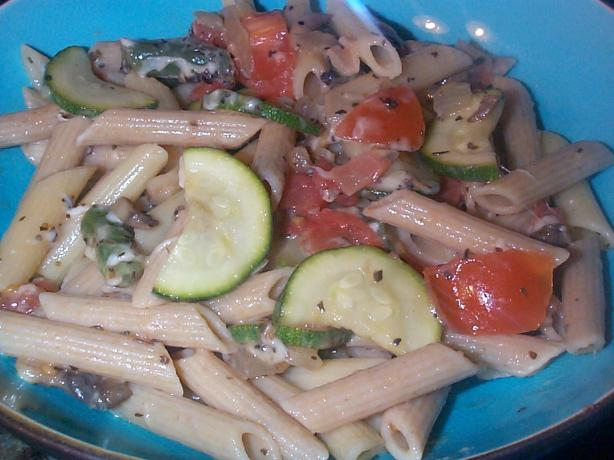 Fire Island Veggie Pasta