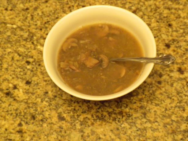 Slovak Christmas Eve Mushroom Soup