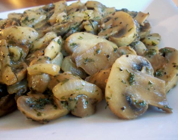 Mommies Sauteed Mushrooms