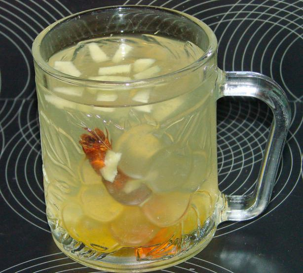 Feel Better Ginger & Lemon Tea