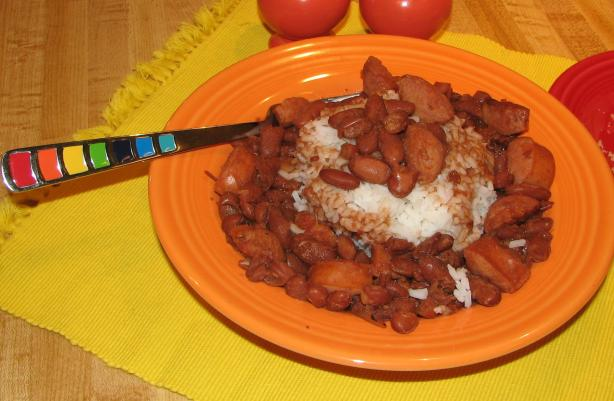 Very Slow Cooking Red Beans and Rice