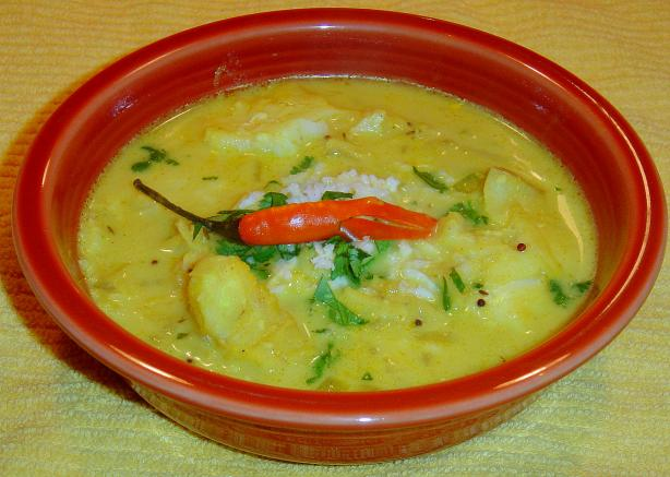 Southern Indian Rice and Seafood Soup
