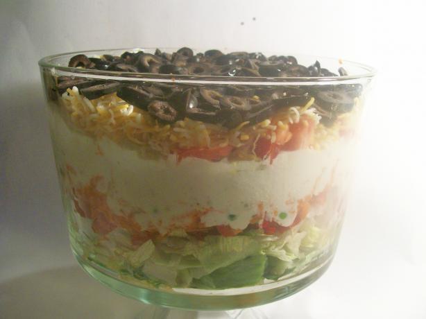 Layered Chef Salad
