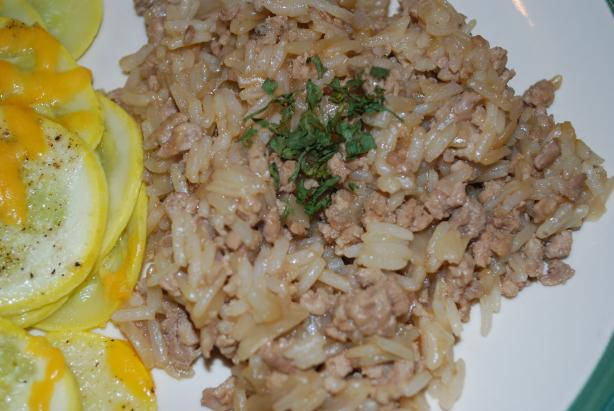 Stove Top Rice Oriental Ground Beef