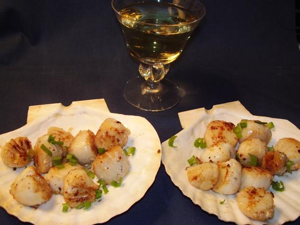 Can't Get Any Easier Pan-Seared Scallops