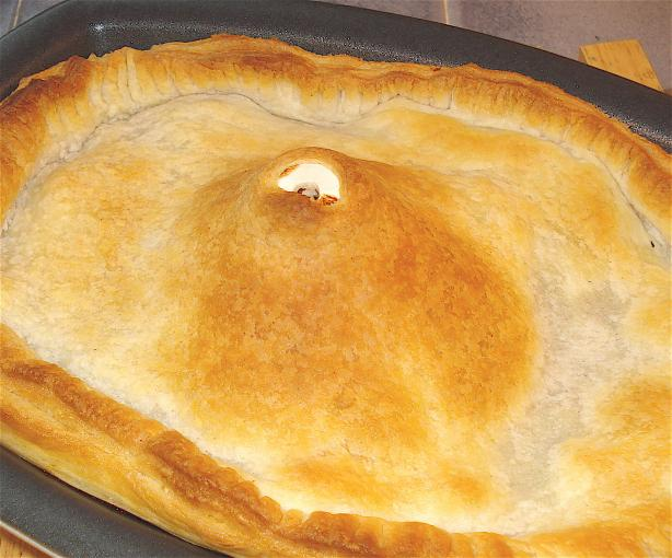 Steak and Kidney (Or Mushroom) Pie